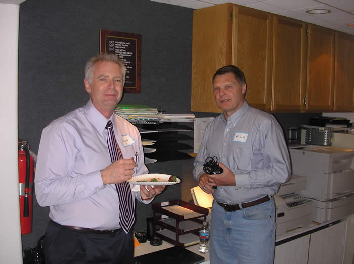 Dr. Richard Keuhn and Mark Spencer