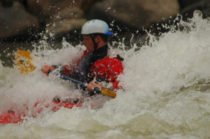 Josh Lau Kayaking